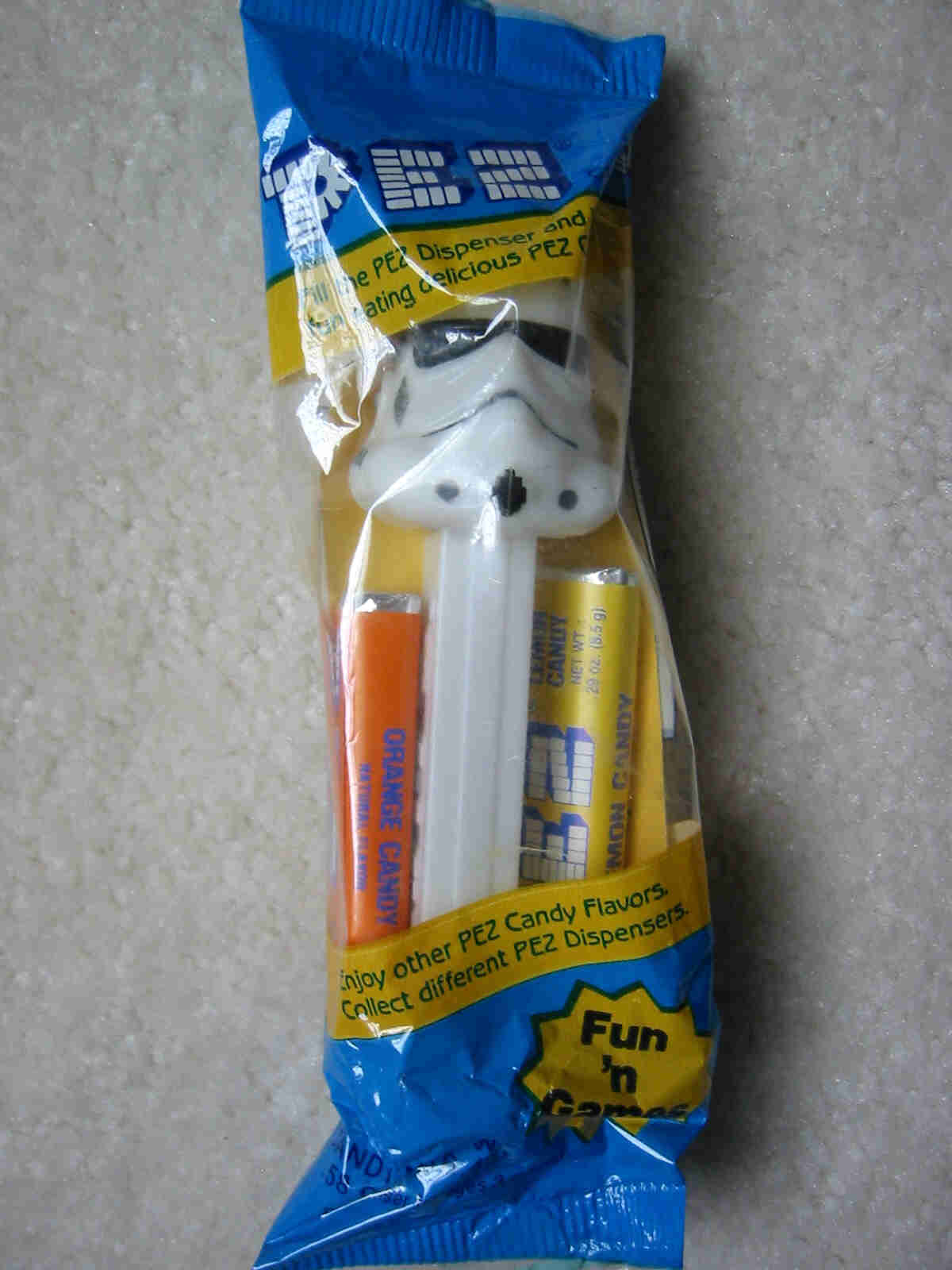 Star Wars - Storm Trooper Pez (MIB)