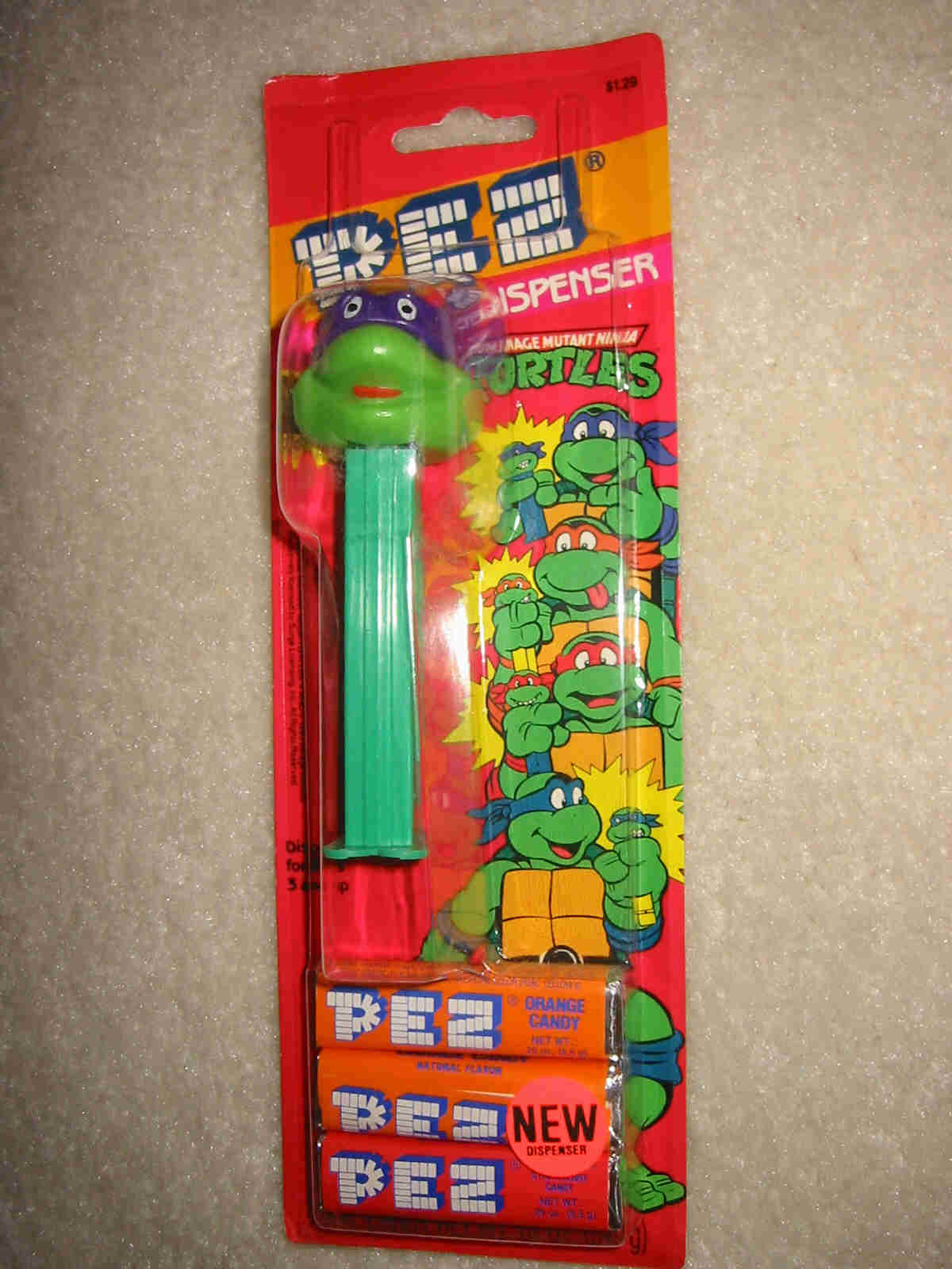 TMNT Original - Donatello Smiling Pez (MOC)
