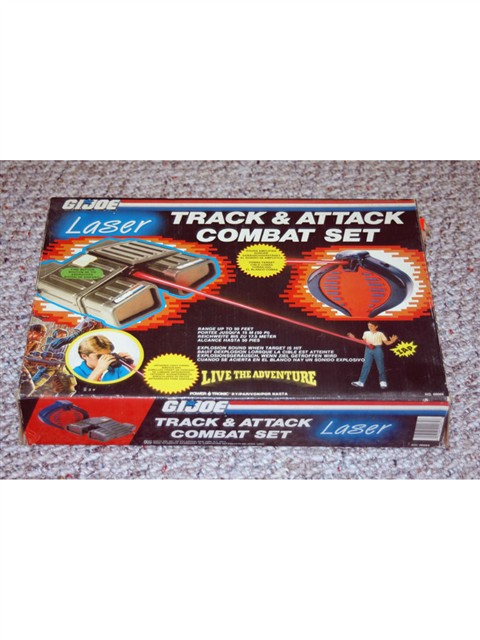 G.I. JOE Laser Track and Attack Combat Set