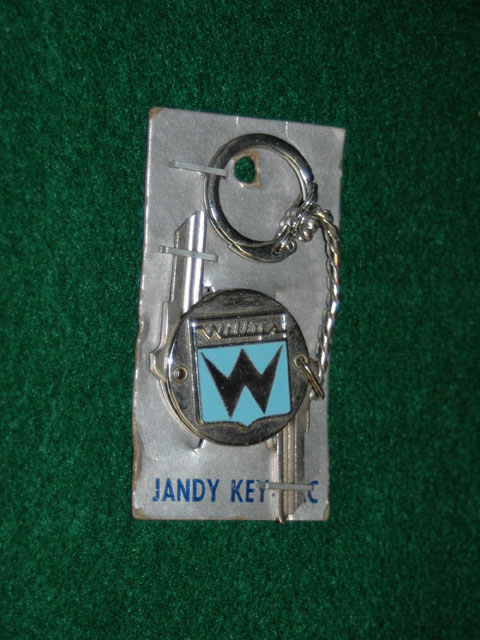 Willys Folding Crest Key Set
