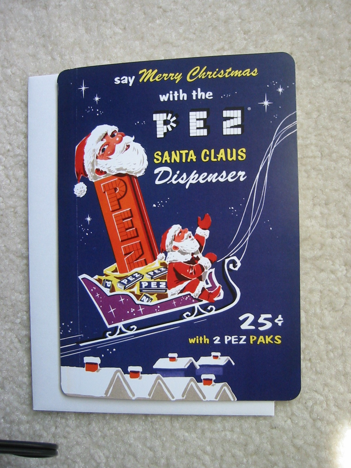 Pez Christmas Card