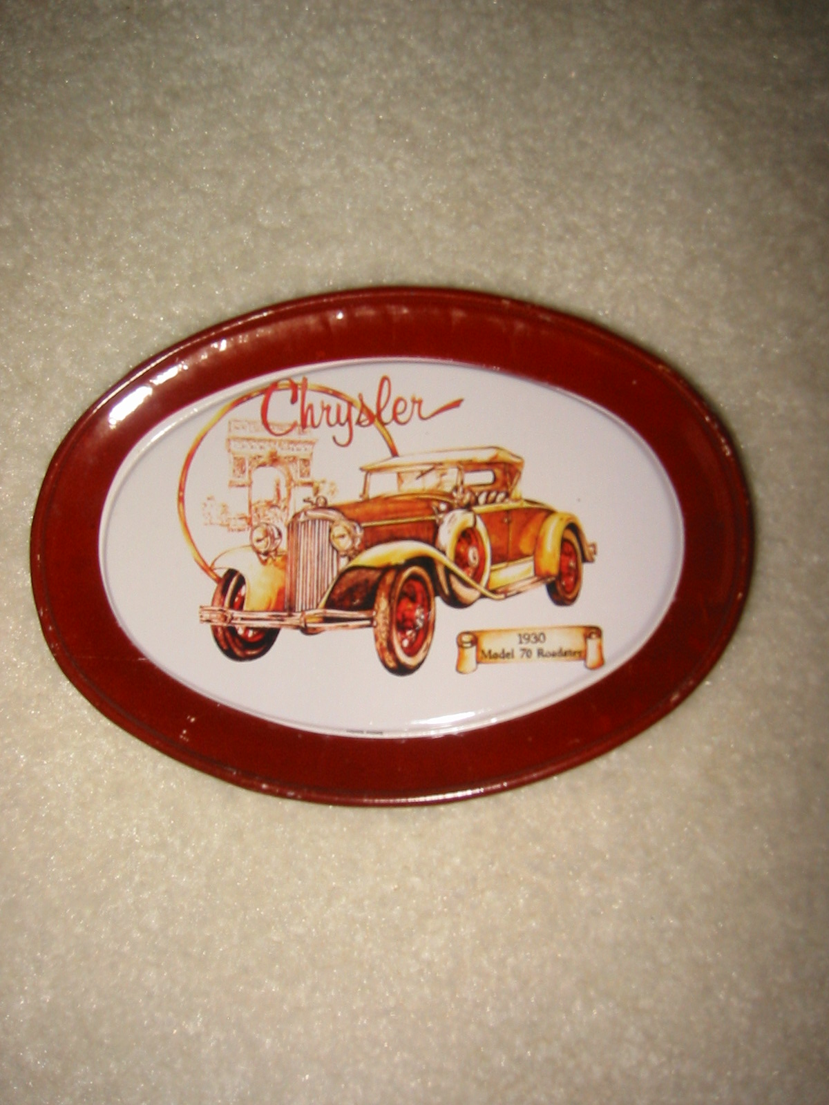 Chrysler Tin Tip Tray