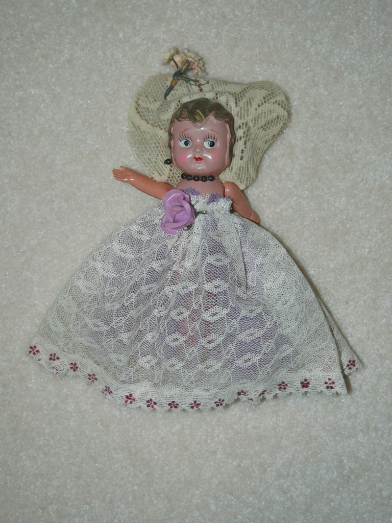 Old Celluloid Doll