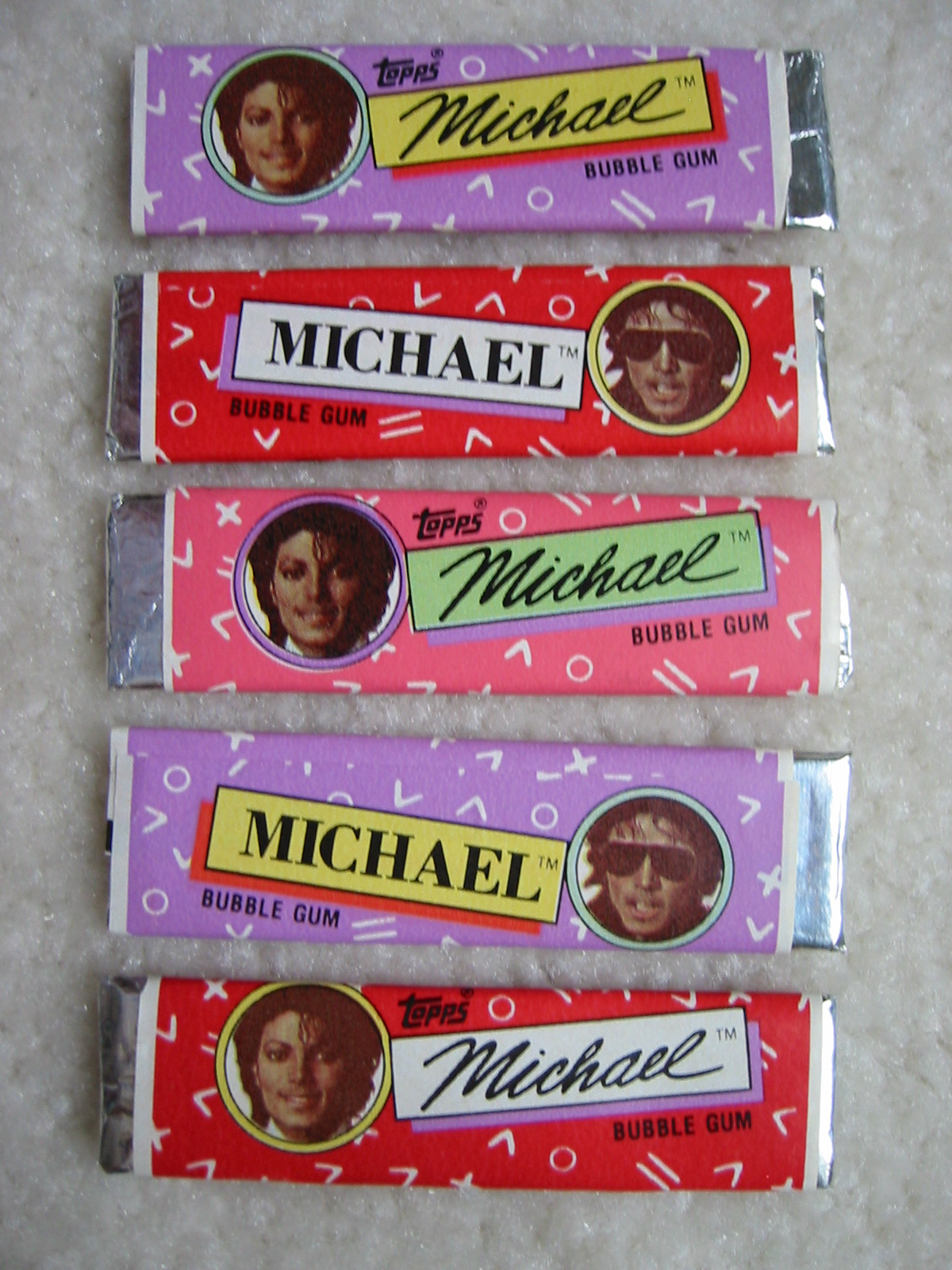 Michael Jackson Bubble Gum Sticks