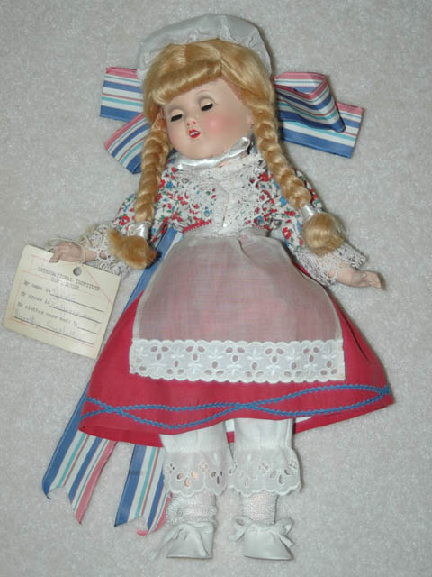 German Costume Doll - Horsman
