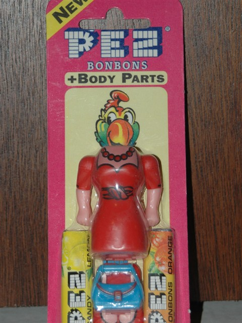 Pez Body Parts - Red Dress