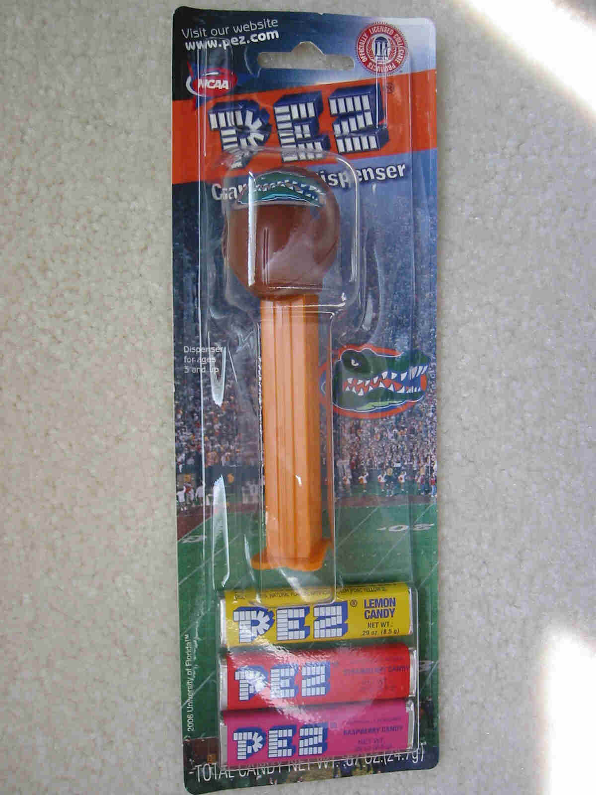 College Football Pez - Florida Gators (MOC)