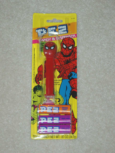 Spiderman Pez - Original MOC