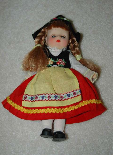 European Dress Doll