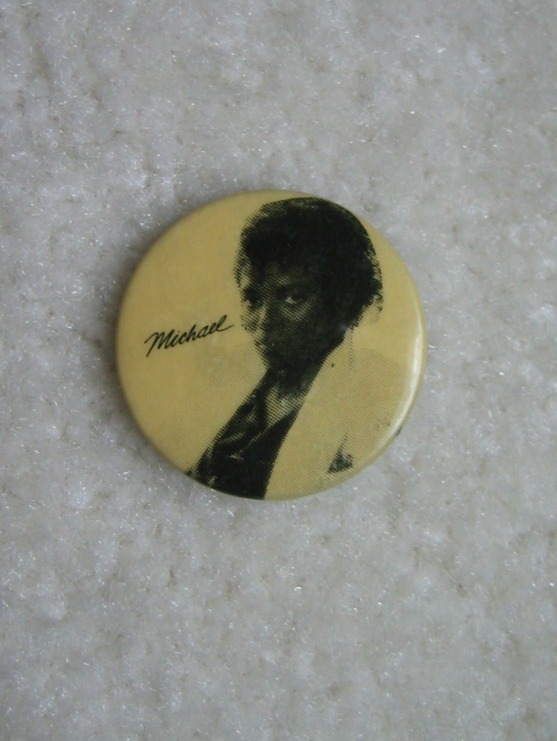 Michael Jackson Pin Back