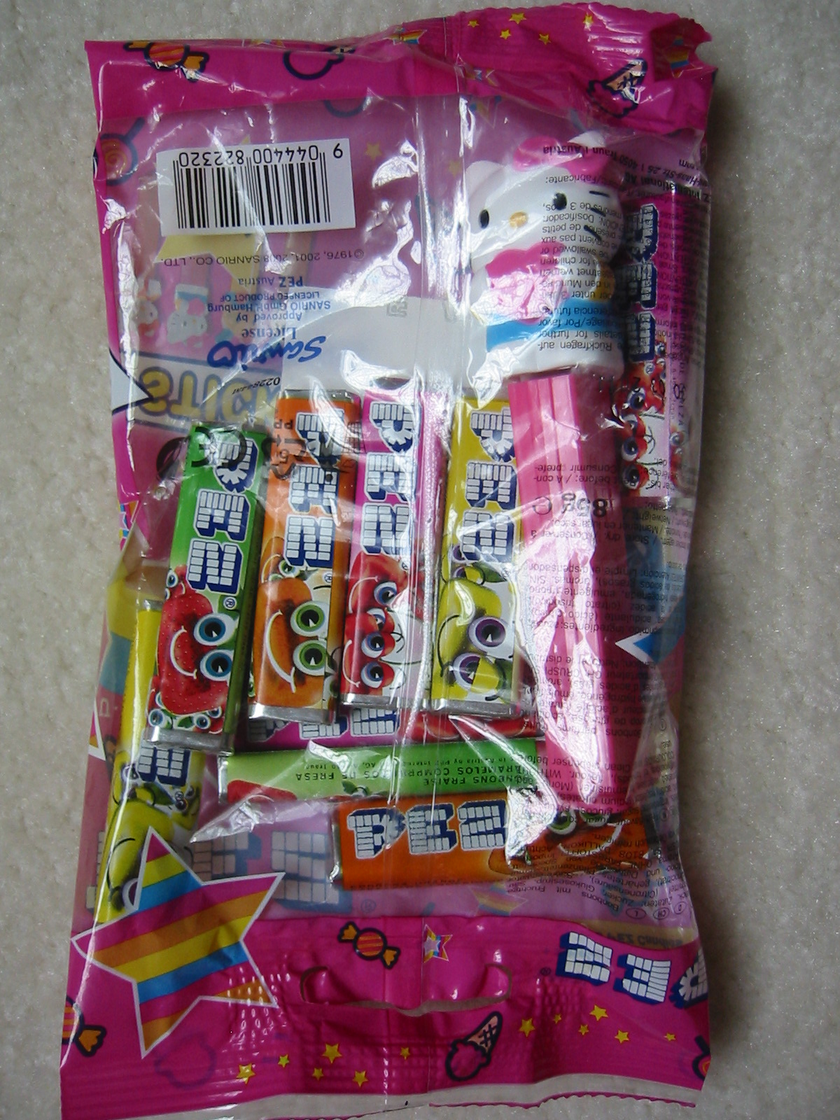 Hello Kitty Pez - Pink, Euro Bag