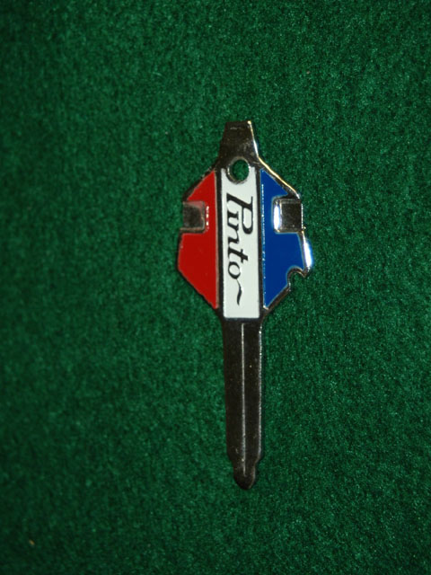 Ford Pinto Promotional Crest Key
