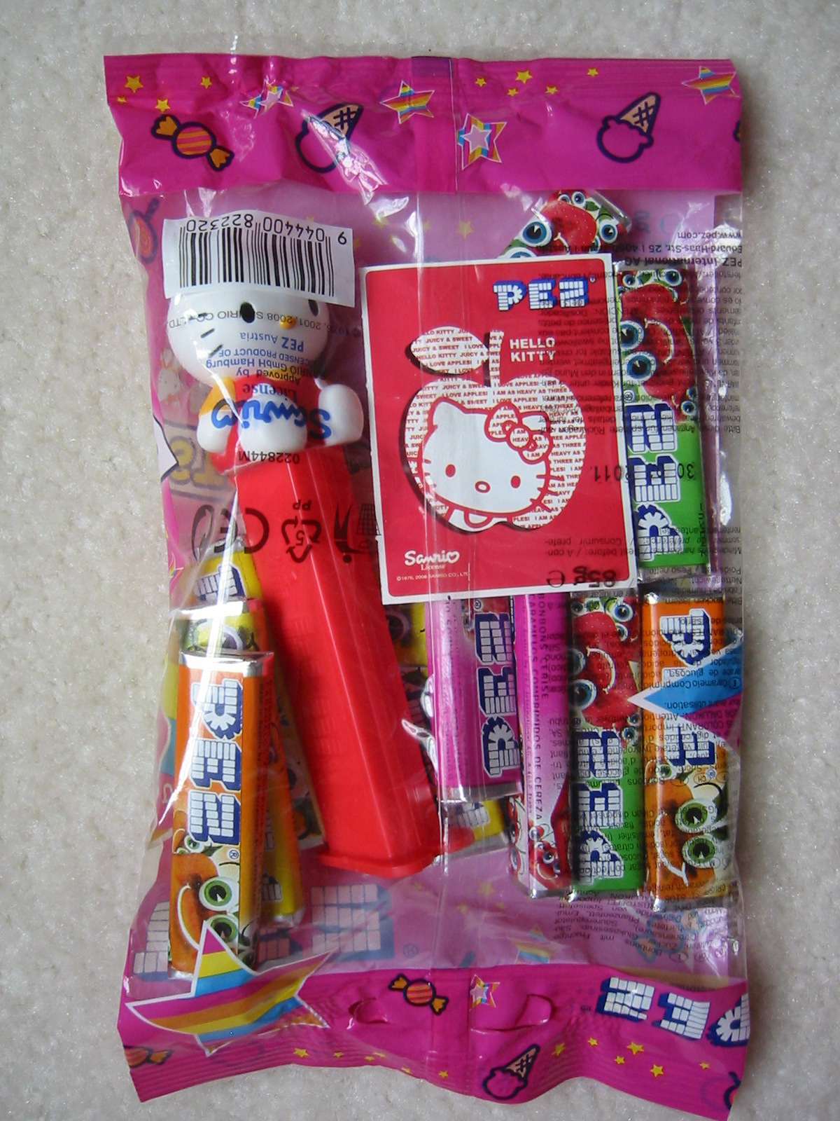 Hello Kitty Pez - Red, Euro Bag