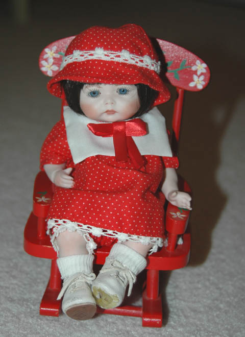 New Bisque Doll