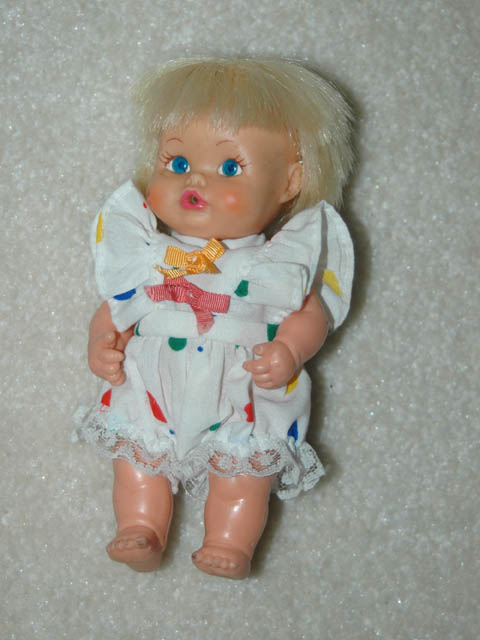 Small Vinyl Doll By Remco
